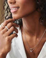 Forevermark The Forevermark Tribute™Collection Beaded Diamond Necklace 1