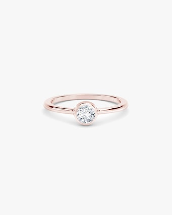 Forevermark The Forevermark Tribute™ Collection Classic Bezel Ring 1