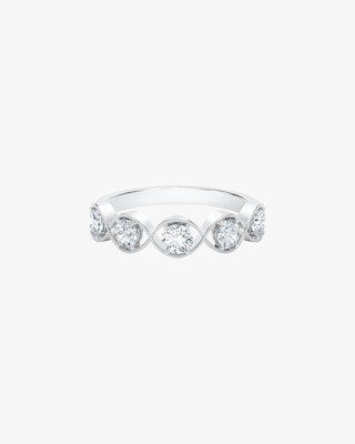 De Beers Forevermark The Forevermark Tribute™ Collection Braided Five Stone Ring 1