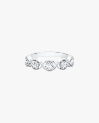 Forevermark The Forevermark Tribute™ Collection Braided Five Stone Ring 1