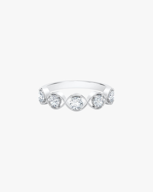 Forevermark The Forevermark Tribute™ Collection Braided Five Stone Ring 0