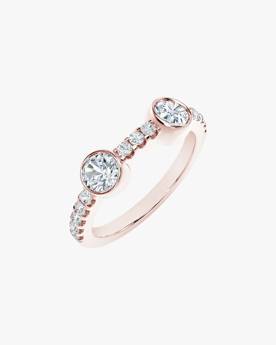 Forevermark The Forevermark Tribute™ Collection Two Stone Diamond Ring 1