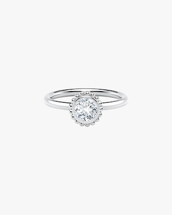 Forevermark The Forevermark Tribute™ Collection Beaded Diamond Ring 1