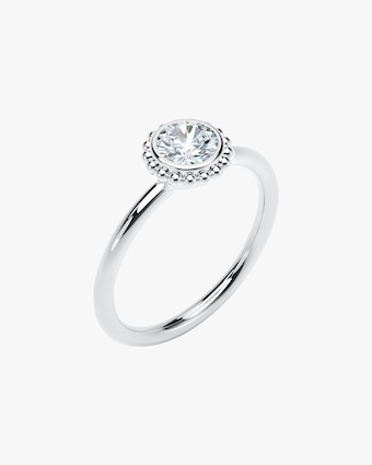 Forevermark The Forevermark Tribute™ Collection Beaded Diamond Ring 2