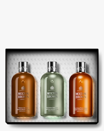 Molton Brown Bathing Trio Woody & Citrus Gift Set 1