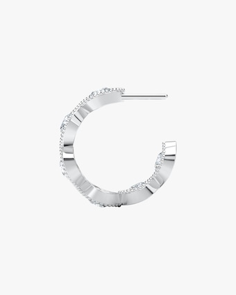 Forevermark The Forevermark Tribute™ Collection Braided Hoop Earrings 2