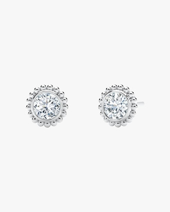 Forevermark The Forevermark Tribute™ Collection Beaded Stud Earrings 1