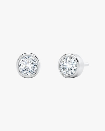 Forevermark The Forevermark Tribute™ Collection Bezel Stud Earrings 2