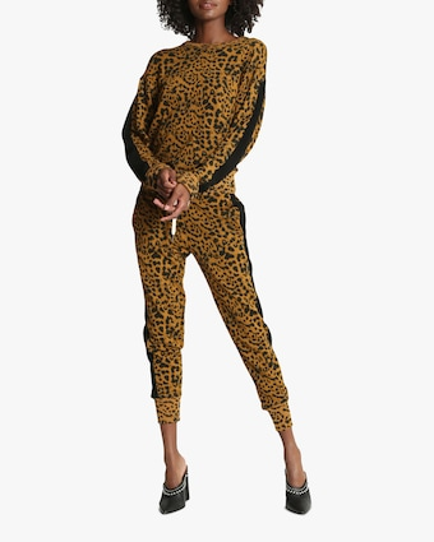 n:philanthropy Barkley Leopard Joggers 1