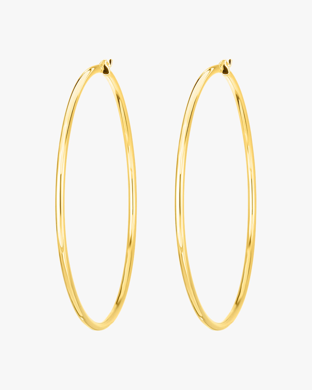 Roberto Coin Yellow Gold Hoop Earrings 0