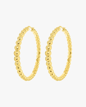Roberto Coin Oro Classic Hoop Earrings 1