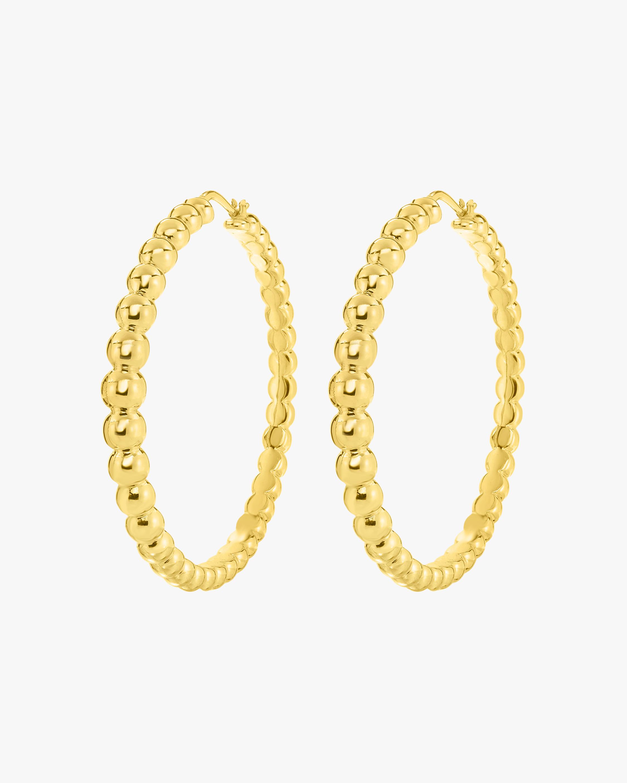 Roberto Coin Oro Classic Hoop Earrings 1