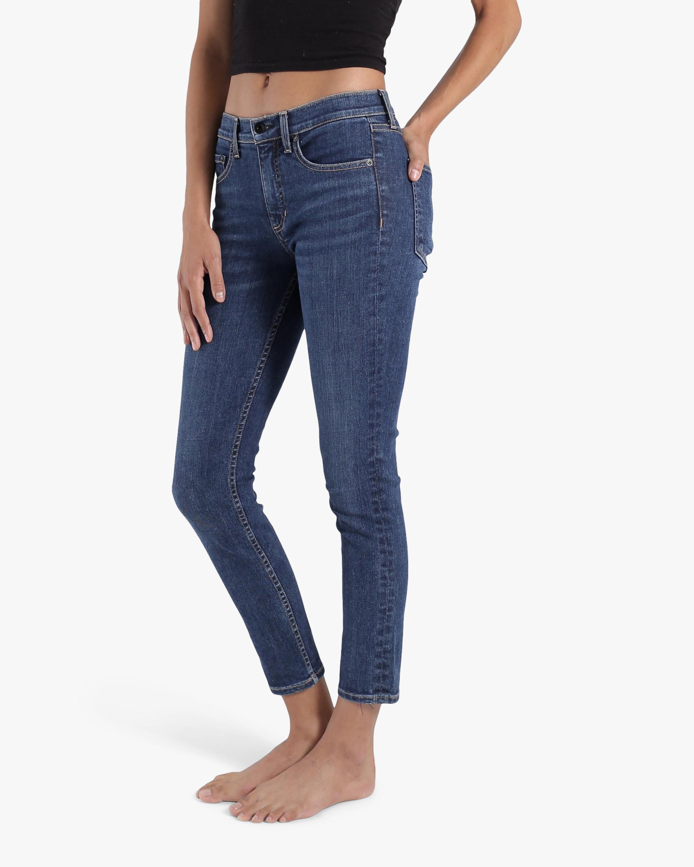 ASKK Dark Vintage Mid-Rise Skinny Jeans 2