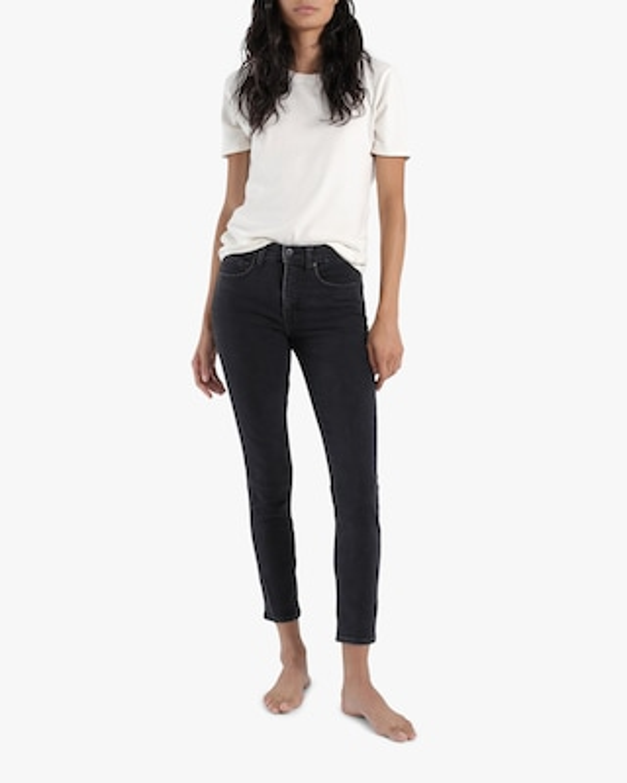 ASKK Stone Mid-Rise Skinny Jeans 1