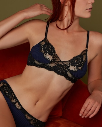 Noelle Wolf Lissom Lace Triangle Bra 2