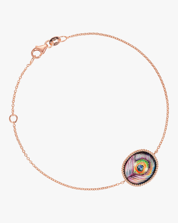 Penelope Jewelry Enamel Peacock Bracelet 1