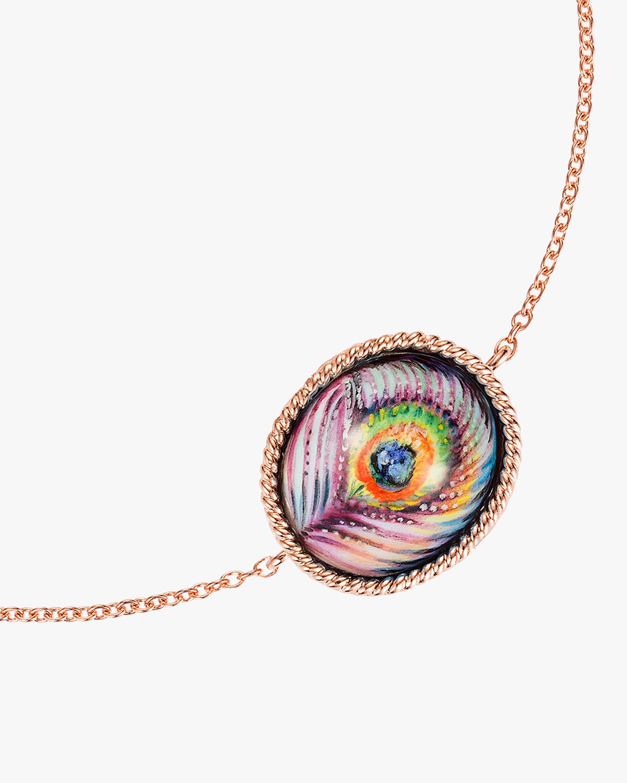 Penelope Jewelry Enamel Peacock Bracelet 2