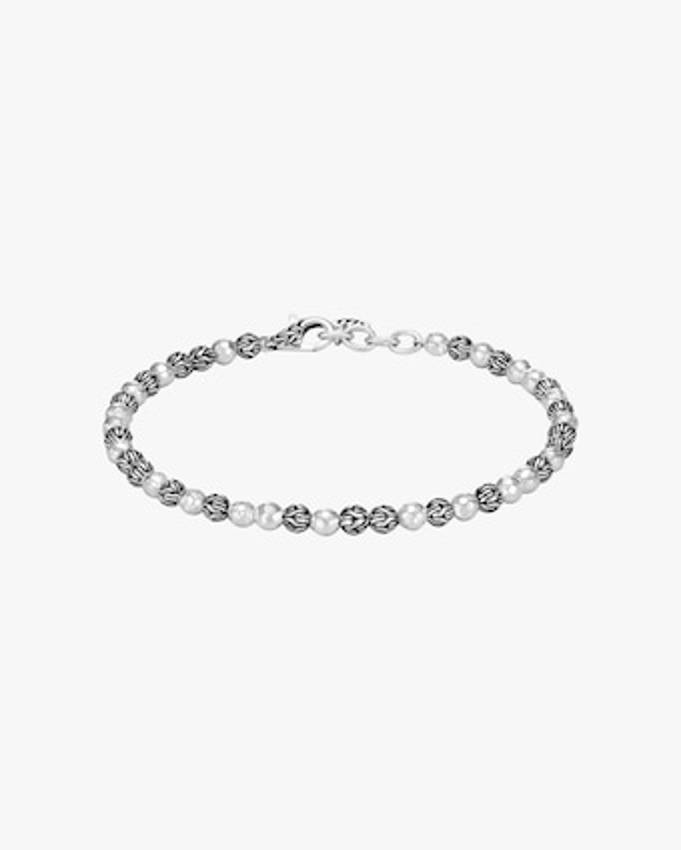 John Hardy Classic Chain Hammered Bead Bracelet 1