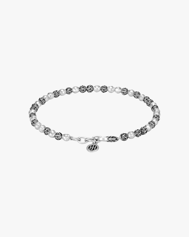 John Hardy Classic Chain Hammered Bead Bracelet 2