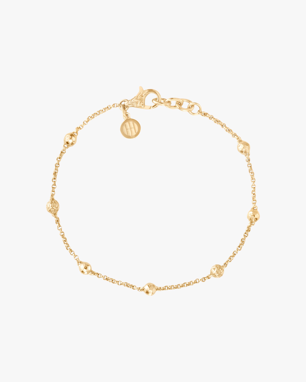 John Hardy Classic Chain 18K Gold Bead Bracelet 2