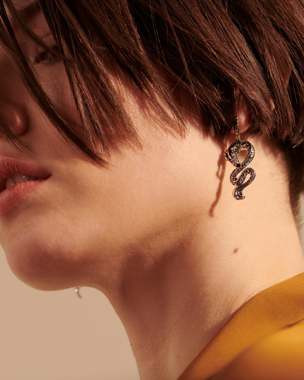 John Hardy Legends Naga Drop Earrings 2