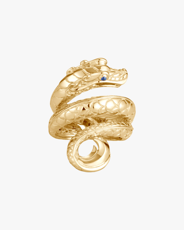 John Hardy Legends Naga 18K Gold Ring 2