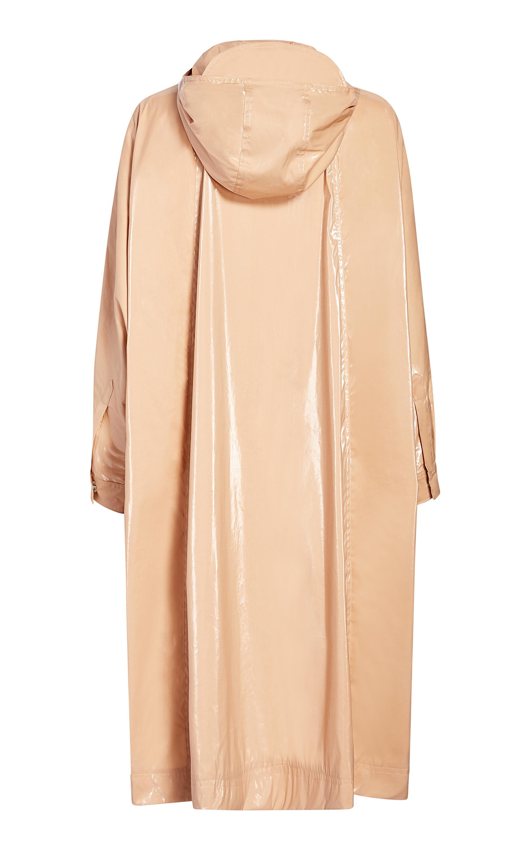 Michelle Waugh Stephanie Dolman-Sleeve Raincoat 5
