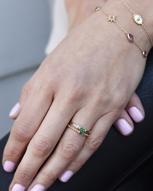 Anzie Turquoise Evil Eye Bracelet 2
