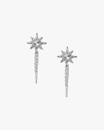 Anzie Topaz Starburst Stud Earrings 1