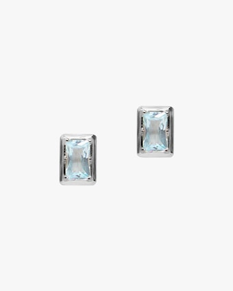 Anzie Cleo Baguette Stud Earrings 1