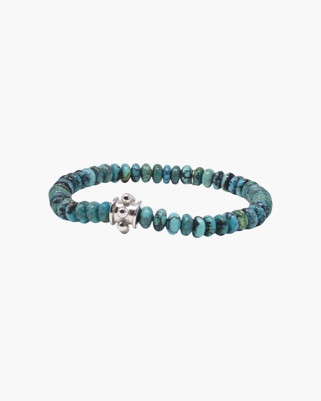 Anzie Turquoise Dew Drop Boheme Beaded Bracelet 2