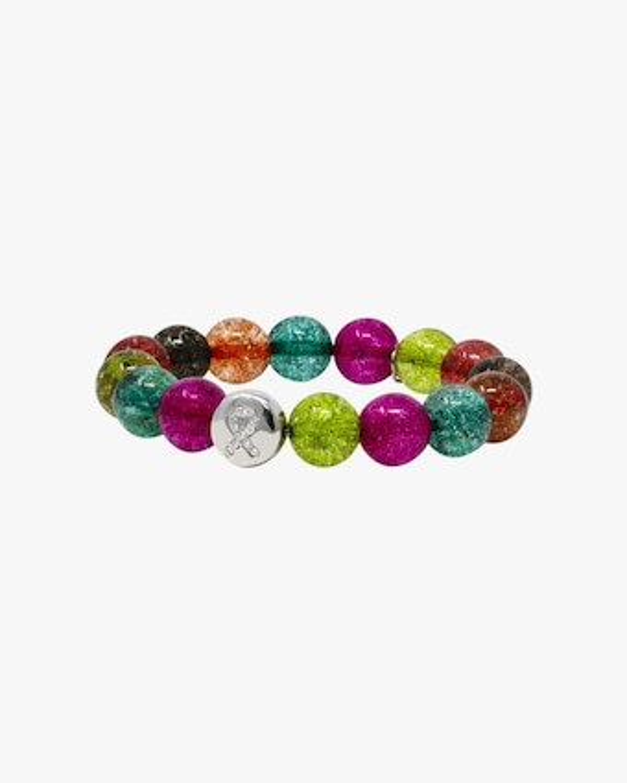 Anzie Tourmaline & Topaz Ribbon Lifesaver™ Boheme Beaded Bracelet 2