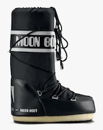 Moon Boots Black Nylon Moon Boot 0
