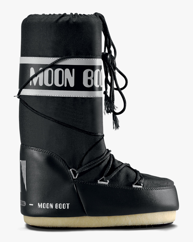 Moon Boots Black Nylon Moon Boot 1