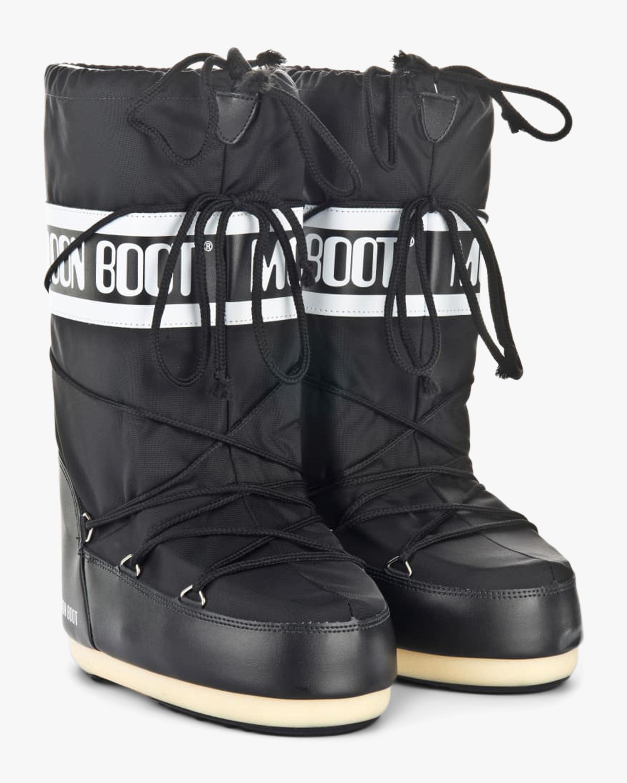 Moon Boots Black Nylon Moon Boot 2