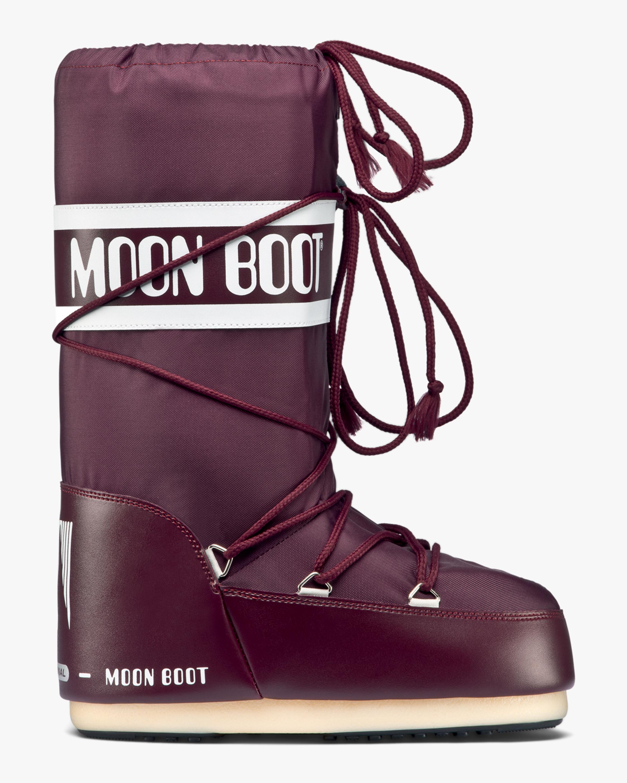 Moon Boots Burgundy Nylon Moon Boot 1