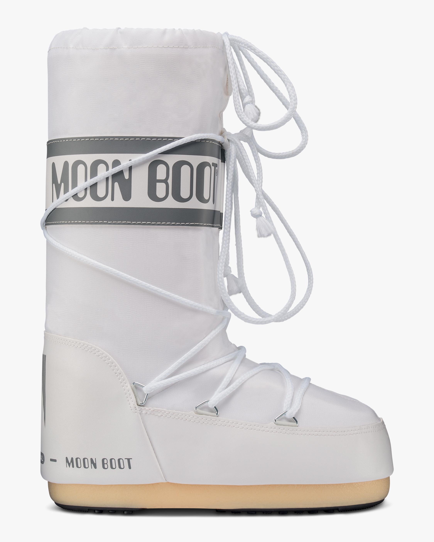 Moon Boots White Nylon Moon Boot 1