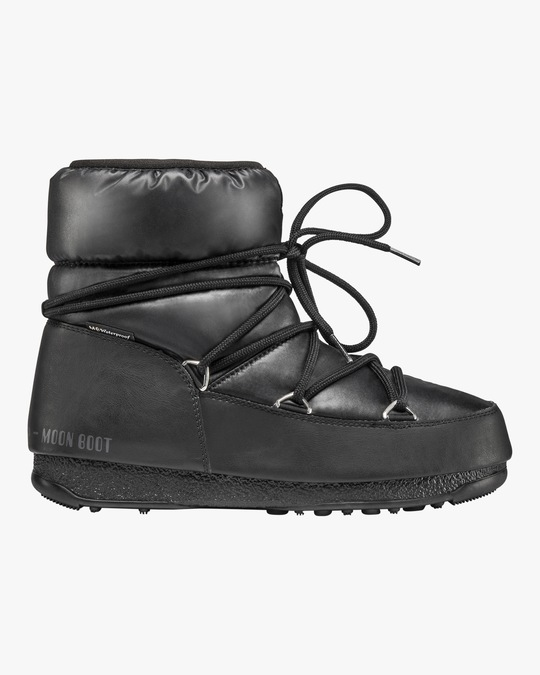 Moon Boots Black Nylon Low Moon Boot 0