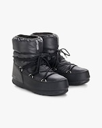 Moon Boots Black Nylon Low Moon Boot 1