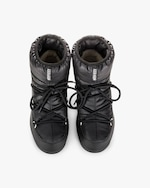Moon Boots Black Nylon Low Moon Boot 3