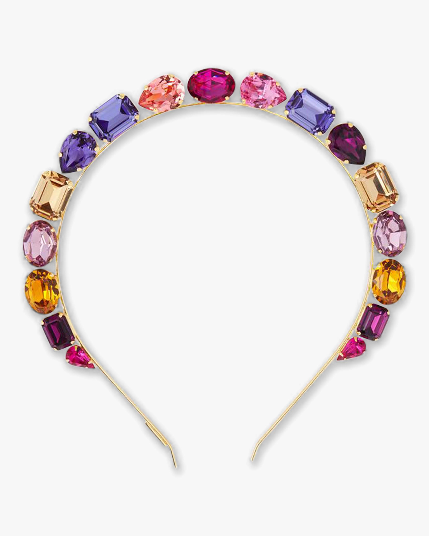 Lelet NY Jules Crystal Crown Headband 2