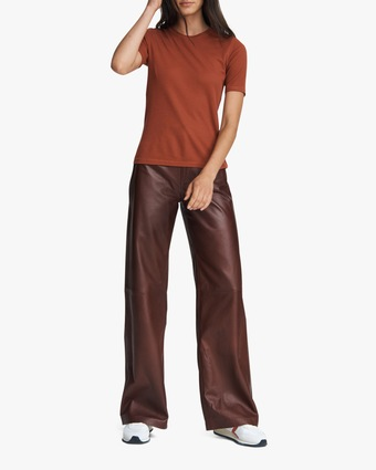 rag & bone The Rib Slim Tee 1