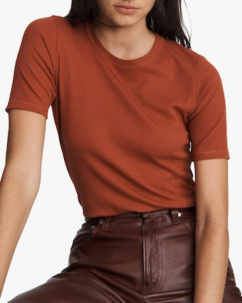 rag & bone The Rib Slim Tee 2