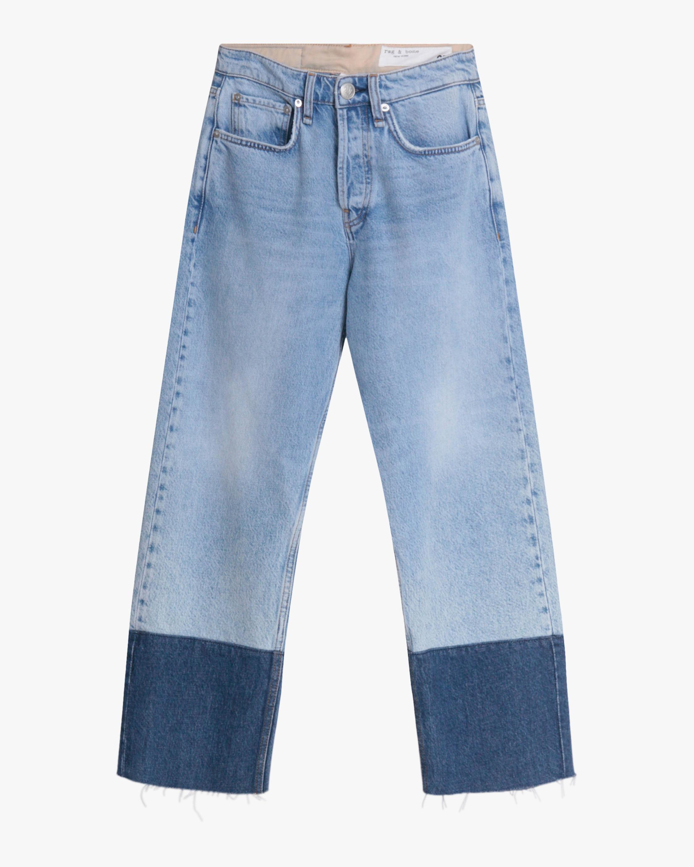 rag & bone Maya High-Rise Ankle Straight Jeans 0