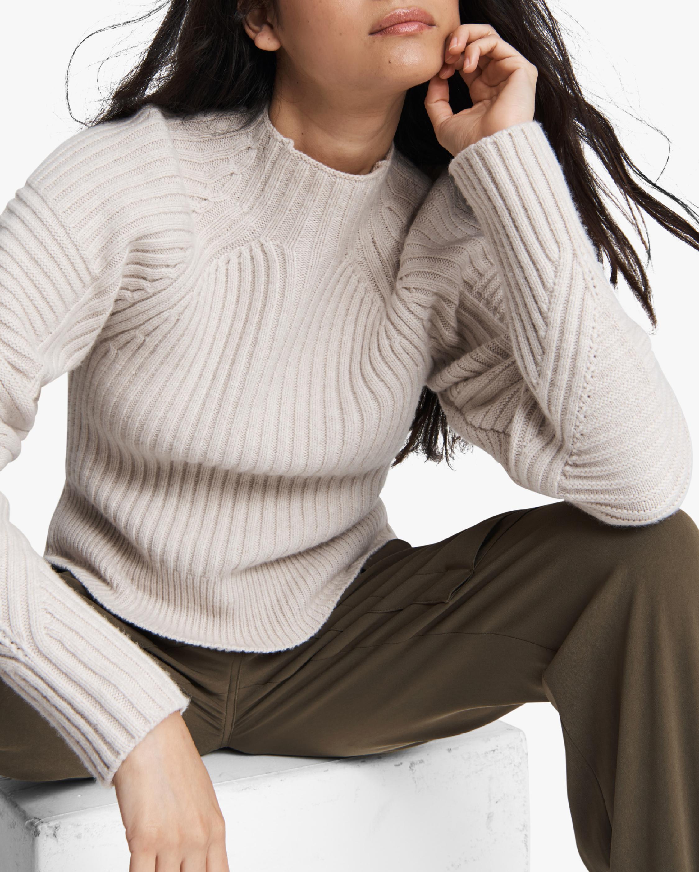 rag & bone Oakes Mock Neck Sweater 4