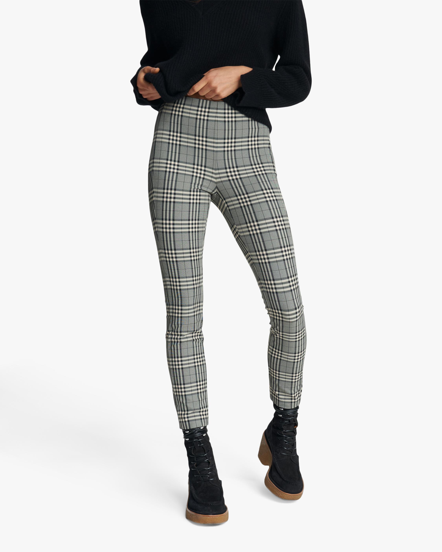 rag & bone Simone Check Pants 1