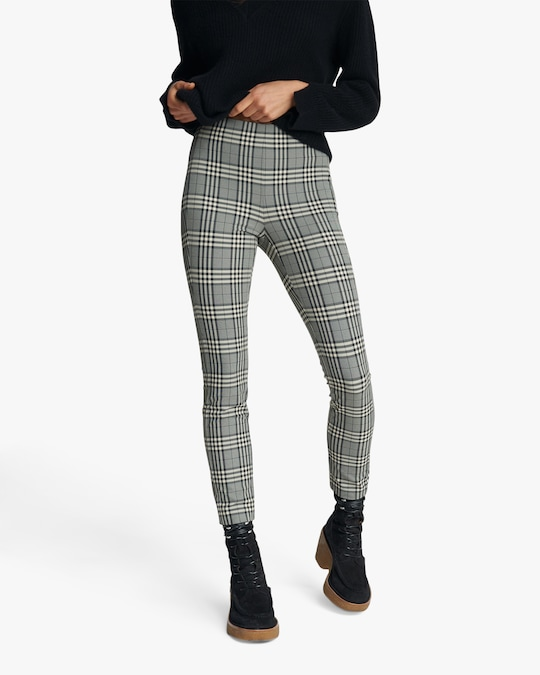 rag & bone Simone Check Pants 1