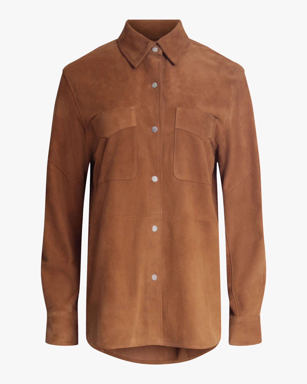 rag & bone Jack Suede Shirt 1