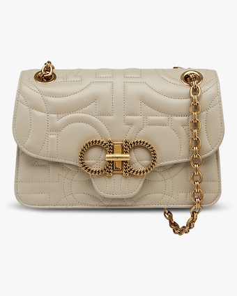 Salvatore Ferragamo Quilted Gancini Bag 1