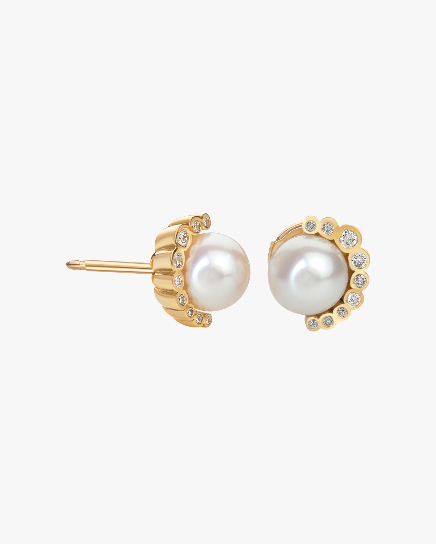 Flora Bhattachary Aditi Pearl Earrings 1